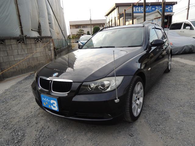 BMW 320iツーリング 社外ナビ ETC 純正アルミ キーレス