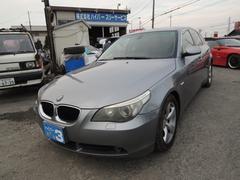 BMW530iハイラインパッケージ 純正ナビ 記録簿 キーレス