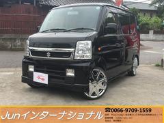 エブリイワゴンPZターボスペシャル 黒シートカバー 社外SDナビ キーレス