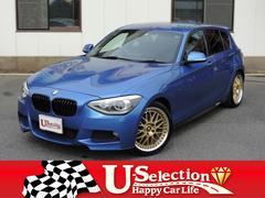 BMW116i Mスポーツ/HDDナビスマートキ−18インチアルミ