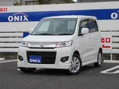 オニキス上尾 当社で新車販売した車輌です。メンテも万全の1台! ワゴンRスティングレー X ID車両 HID スマートキー エアロ 純正CDデッキ