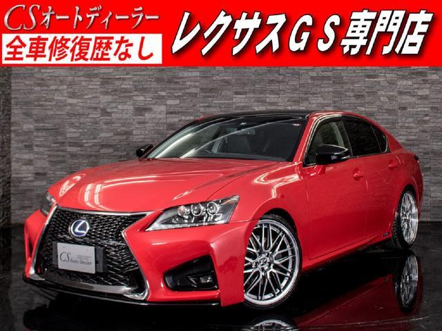 レクサス GS450h Iパッケージ スピンドル 新品車高調&20AW