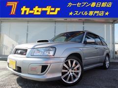 フォレスターSTiバージョン4WD 6速MT STI18アルミ マフラー