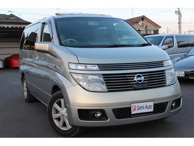 日産 XL 4WD サンルーフ レザーシート ローン金利0.0%