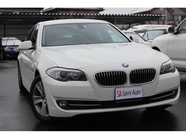 BMW 528i 保証1年 禁煙車 ディーラー車 右H 純正ナビ