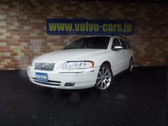 ボルボ V70ホワイトパールED300台限定車 本革 HDD 07モデル