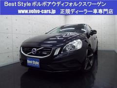 ボルボ S60T4 RデザインポールスターP 黒革 HDD 2013モデル