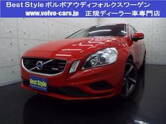 ボルボ V60T6AWDRデザインポールスターP 黒革 1オナ 2012M