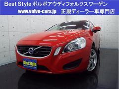ボルボ V60ドライブeセーフティP 黒革 HDD Bカメ 2012モデル
