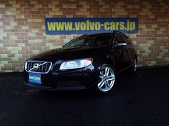 ボルボ V70クランベリー100台限定車 赤革 HDD Bカメ 2011M