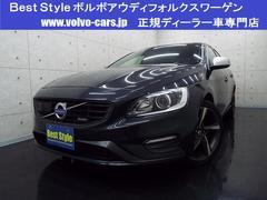 ボルボ S60T5Rデザイン インテリセーフ 黒革 HDD 2014モデル
