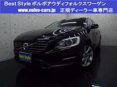 ボルボ V60T4SEセーフティP 黒革 HDD Bカメラ 2014モデル