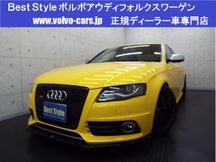 アウディ S43.0クワトロ黒革 サンR WORK20AW 2011モデル