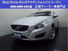 ボルボ V60ドライブeセーフティPクリーム革 HDD Bカメ 2012M