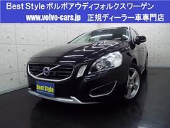 ボルボ V60T6AWD SEスタイリングP 黒革 HDD 2011モデル