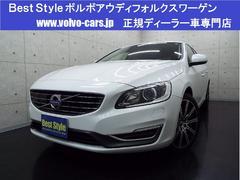 ボルボ V60T6AWDセーフティpkg 黒革 純ナビ 1オナ 2014M