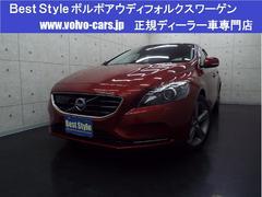 ボルボ V40T4 SEポールスターP 純正HDD 1オナ 2014モデル