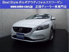 ボルボ V40T4セーフティP 純HDD DTV Bカメラ 2014モデル
