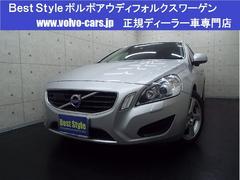 ボルボ V60T4セーフティP 黒革 純正HDD 1オナ 2013モデル