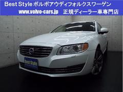 ボルボ V70T6AWDポールスターP クリーム革 1オナ 2014モデル