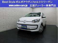 VW アップ!ムーブアップ!5ドア 純ナビ 革調シートカバ 2014モデル