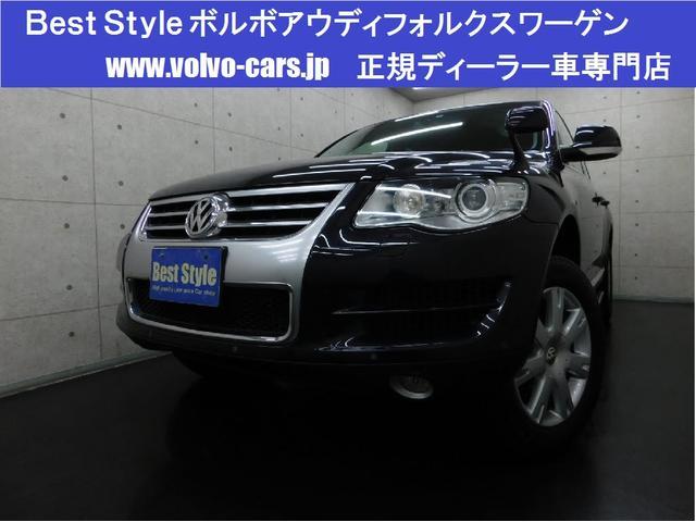 フォルクスワーゲン V6 4WD 黒革 HDD Bカメラ スマート 08モデル