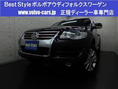 VW トゥアレグV8 4WD 黒革 ナビ Bカメラ ETC 07後期モデル