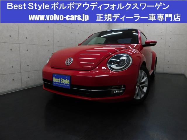 フォルクスワーゲン デザインレザーpkg 黒革 サンR 純ナビ 2013モデル