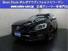 ボルボ S60T4Rデザインポールスターpkg黒革 1オナ 2014モデル