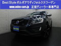 ボルボ XC60T5Rデザインインテリ 黒革 純ナビ 1オナ 2015モデル