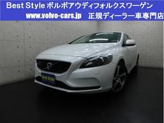 ボルボ V40D4SEインテリクリーム革 純ナビ スマート 2016モデル