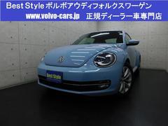 VW ザ・ビートルデザインレザーpkg 黒革 純正ナビ 1オナ 2015モデル