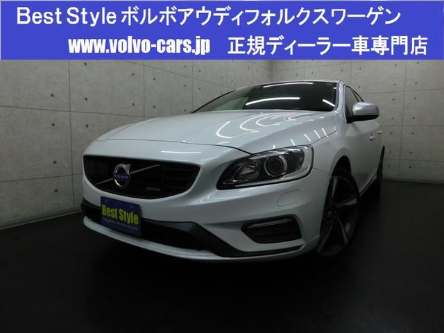 ボルボ T4Rデザインセーフティpkg 黒革 1オナ 2014モデル