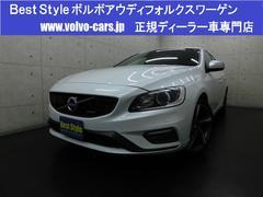 ボルボ V60T4Rデザインセーフティpkg 黒革 1オナ 2014モデル