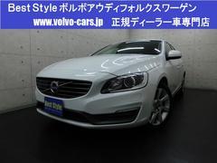 ボルボ V60T4SEセーフティpg 黒革 純ナビ 1オナ 2014モデル