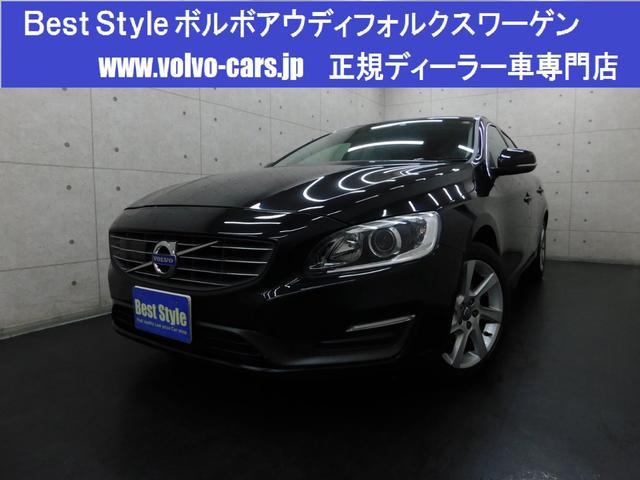ボルボ T4SEセーフティpg 黒革 純ナビ 1オナ 2014モデル