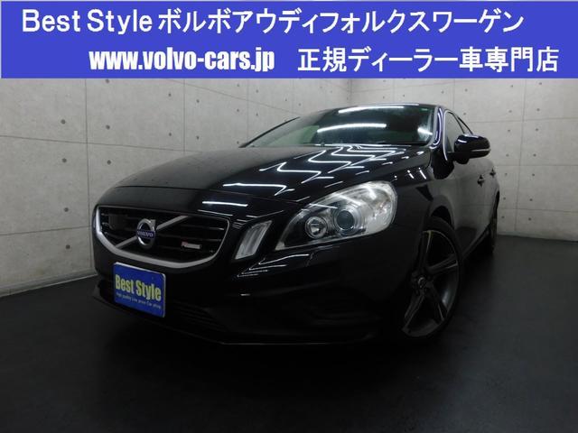 ボルボ S60 T4Rデザインセーフティpkg 黒革 純ナビ スマート