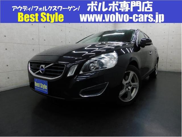 ボルボ V60 ドライブe セーフティpkg 黒革 純ナビ DTV ETC キセノン ACC 2012モデル