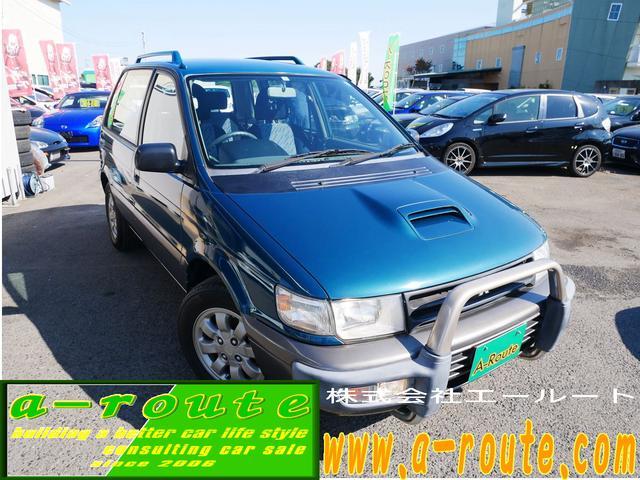 X3 5速MT 4WDインタークーラーターボ 4G63 オートエアコン 純正15インチアルミ スライドドア タイミングベルト交換済み