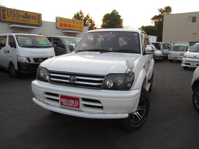 トヨタ ランドクルーザープラド TXリミテッド 4WD キーレス パナソニックナビ CD