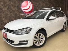 VW ゴルフヴァリアントTSIコンフォートラインブルーモーションテクノロジー 禁煙