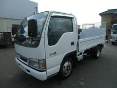 エルフトラック2t フルフラットロー パワーゲート600kg
