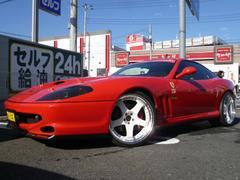フェラーリ 550マラネロ 社外チタンマフラー SSR20インチAW