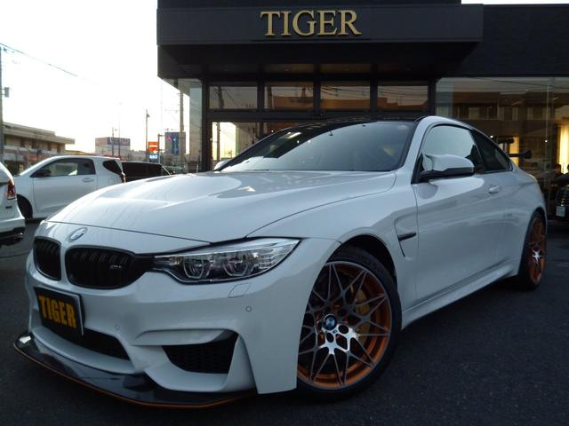 BMW M4 GTS カーボンボンネット ワンオーナー  禁煙車