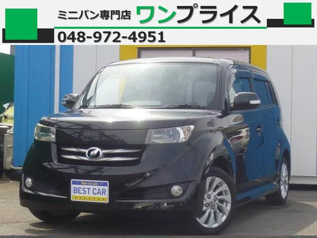 トヨタ bB Z Qバージョン スマートキー CD ETC ワンオーナー ベンチシート