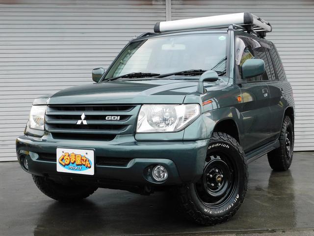 三菱 パールパッケージII 4WD ルーフラック BFグッドリッチ