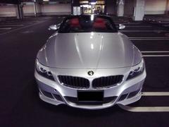 BMW Z4赤革シート  ハーマンバンパー