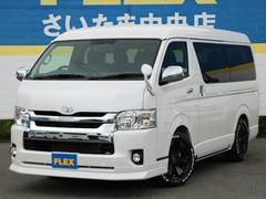 ハイエースワゴンGL4WD トリプルモニター トヨタセーフティ付