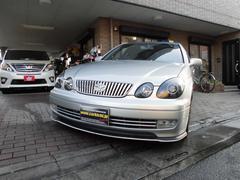 アリストS300ベルテックスエディション 車高公認AWマフラー