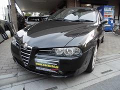 アルファ156TI 2.5 V6 24V Qシステム 4AT ETC黒革